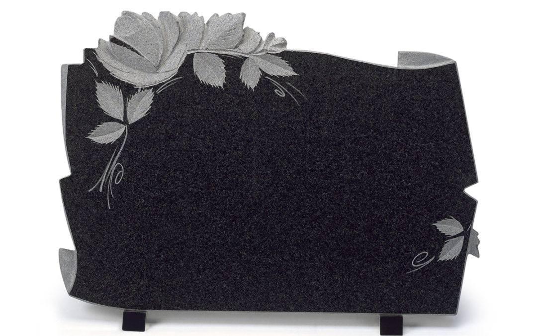 Comment réaliser une plaque funéraire personnalisée ?